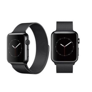 NEW Black Milanese Apple Watch Band